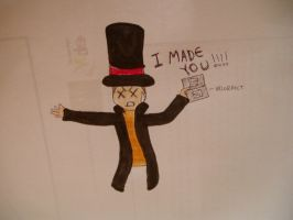 Layton is a little angered :D by ICannotDrawToSaveMe