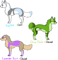 .:Point Adopts:. Pastel Cool Colors Batch -Open- by P4WPR1NT