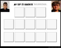 My Top 13 Favorite Maurice LaMarche Characters-bl. by Toongirl18