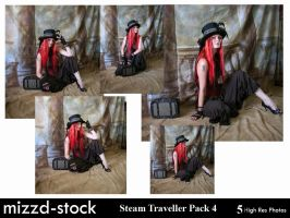Steam Traveller Pack 4 by mizzd-stock