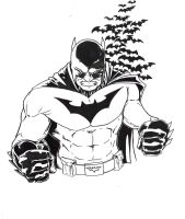 Yet another pic of batman by jonathan-munro