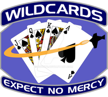 Space A and B Wildcards Blue by cbunye