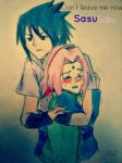 Sasusaku dont leave me now by Kati-Hinata