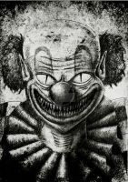 Evil Clown by Cruz-666