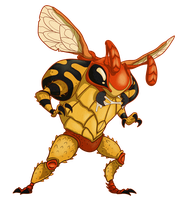 Grumble Bee by ToofNClaw