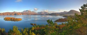 Torridon Mountains 3 by RevelationSpace