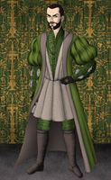 Salazar Slytherin by SingerofIceandFire