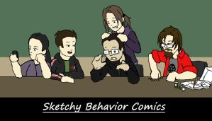 Sketchy Behavior Comic's Crew by SketchyBehavior