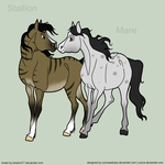 Horse Breedables by LuzinasAdopts