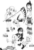 S.E chibies B-Day Gift by Maka-A