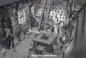 The Harpy's Common Room by TanzerDragon