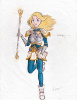 Lux, the Lady of Luminosity by CrystaloftheSoul