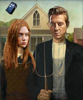 Doctor Who Gothic by christodoulos