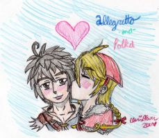 A Kiss For My Love by cleris4ever