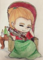 Sleepy Inqusition: Varric by Phantomhive4ever