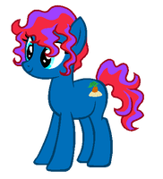 MLP:Custom Pony for Ruby-Dust by kiananuva12