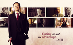 BBC Sherlock Wallpaper - Mycroft by Sidhrat