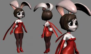 Bunny textured by chochi