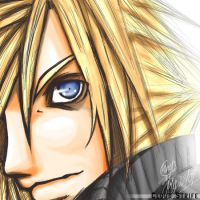 Cloud Strife by charlestanart