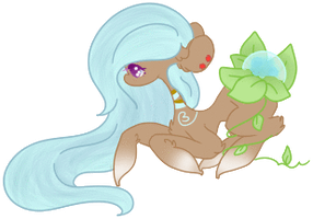 Hue Change Dew Drop Adopt by Ambercatlucky2