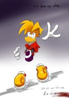 Rayman:Don't leave me along by amberday