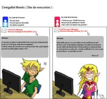 Zelda Link on Dating Website by Im-Katone