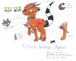 Agnes Ref by MrsToxicMania