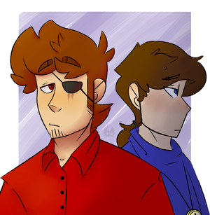 Dean and Alan by Konory