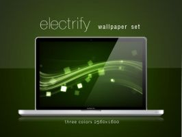 electrify wallpaper set by blifaloo