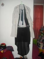Fem.Cas Cosplay with Skirt by TheQueenofLight