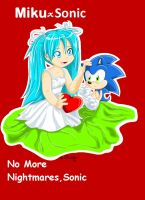 No More Nightmares, Sonic by sonicartist16