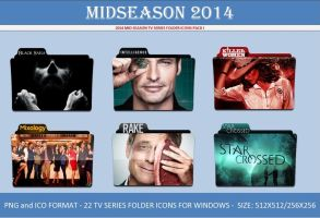 2014 Mid Season TV Series Folder  Icons - Windows by Llyr86