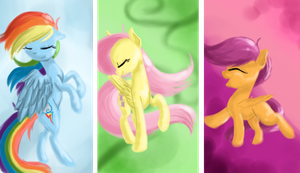 Dance of the Pegasi by Artizay