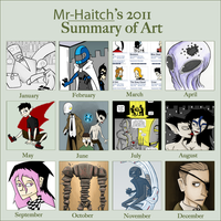 2011 Art Summary by Mr-Haitch