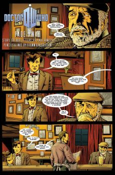 Doctor Who: Fade Away Page 1 by ShawnVanBriesen