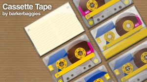 Cassette Tape by ~barkerbaggies