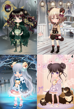 (CLOSED) Free Selfy Adopts! [Batch 15] by AndIShatter