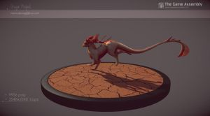 DragonProject- lowpoly2 by Skylarc88