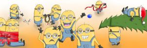 Despicable Me 2 Minions by MysticIridic