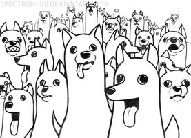 pooches galore by Spectrum-VII