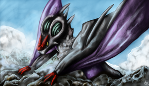Noivern by shadowind98