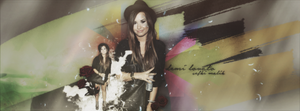Demi Lovato Facebook Cover by ForeveRihanna