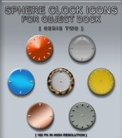 Sphere Clocks Serie Two by flexible
