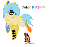 ColorPattern adopts a buny and calls it colorsplat by bellaflor15