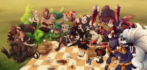 League of Picnick by NIELSPETERDEJONG
