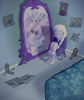 Frozen: Friends with a monster by Kittaaay