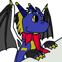 Curios dragon icon based - Cloud by WingedWilly