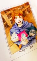 Onew Hello Baby by saesangpan
