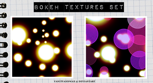 Bokeh And Lights Texture Set 2 by vanityandwax