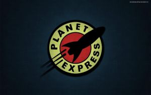 Futurama Planet Express wallpaper by deviantartspeedfreak